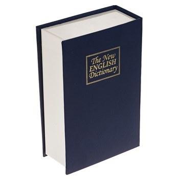 صندوق کتابي امن سديد مدل English Dictionary قفل رمزدار | Sadid English Dictionary Book Safe Combination Lock