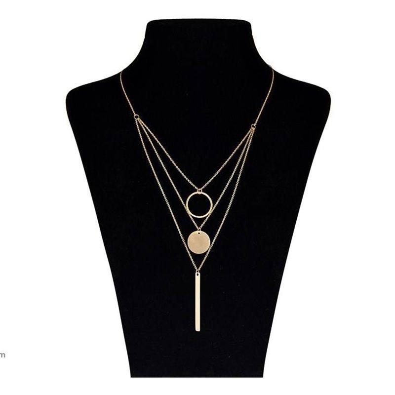 تصویر گردنبند طلا 18 عیار ماهک مدل MM0397