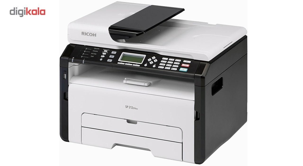 img Multifunction Laser Printer Ricoh SP 212SFNw پرینتر چند کاره لیزری ریکو SP 212SFNw