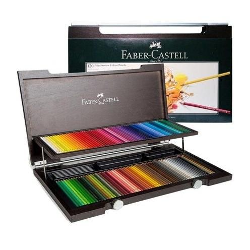 مداد رنگی 120 رنگ پلی کروموس فابرکاستل