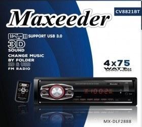 main images پخش مکسیدر دکلس بلوتوث دار مدل MAXEEDER CV8821BT
