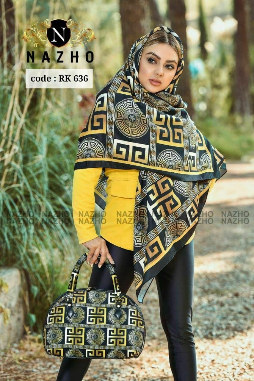 ست کیف و روسری ناژو کد RK 636