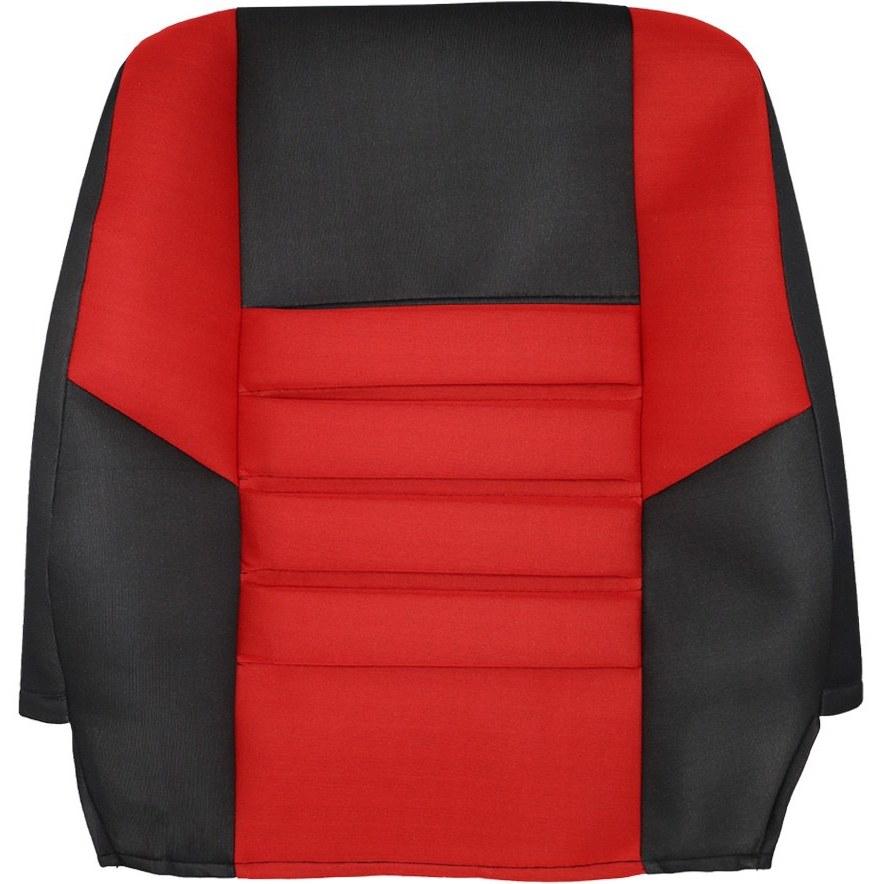 تصویر روکش صندلی پراید صبا | طرح فراری | کد R12 pride saba seat cover | Ferrari plan | Code R12