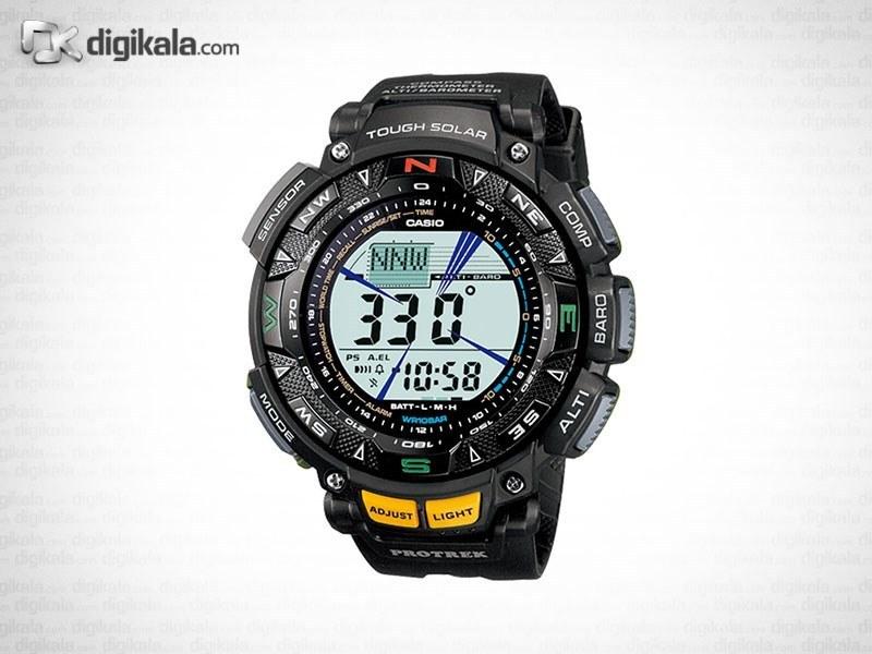img ساعت مچی دیجیتالی مردانه کاسیو پروترک مدل PRG-240-1DR Casio ProTrek PRG-240-1DR Digital Watch For Men