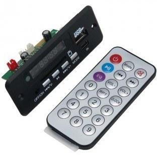 ماژول پخش فایل های صوتی دارای ورودی های بلوتوث / USB / TF CARD