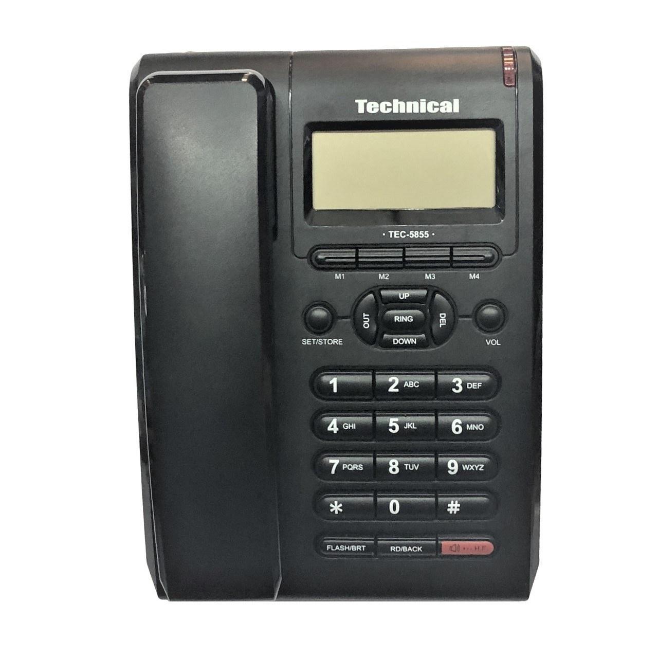 تصویر Technical  TEC-5855 Phone Technical  TEC-5855 Phone