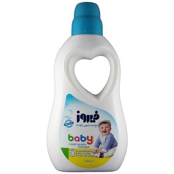 مایع لباسشویی کودک آبی فیروز مدل Baby