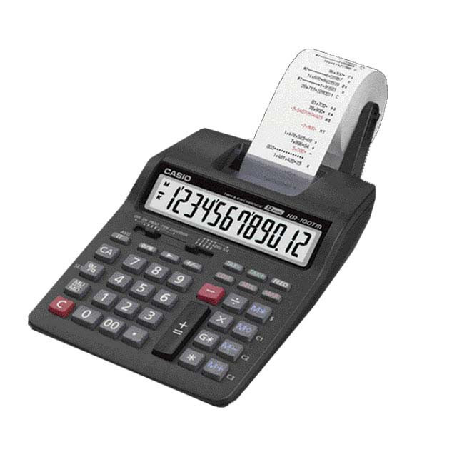 ماشین حساب کاسیو مدل HR-100-TM-Plus | Casio HR-100TM Plus Calculator