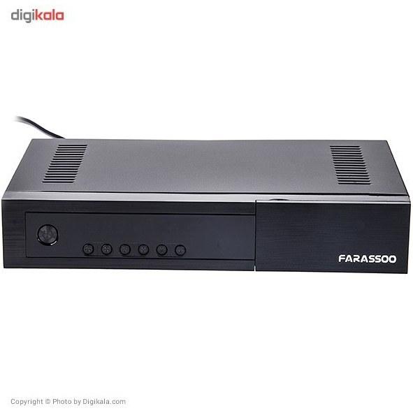تصویر گیرنده دیجیتال فراسو مدل FDR-220 Farassoo FDR-220 DVB-T