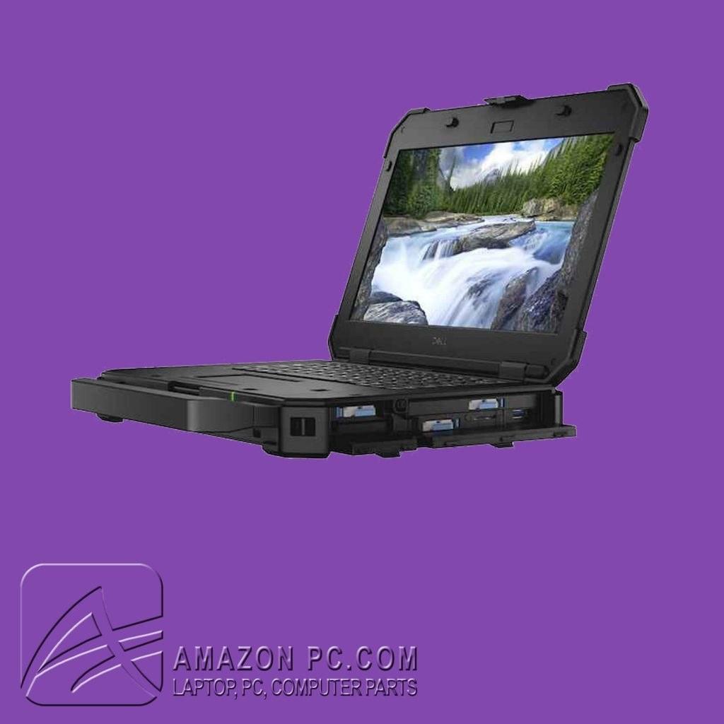 تصویر لپ تاپ صنعتی دل Rugged Exterme i5-8GB-256SSD-Intel Dell Laptop Latitude