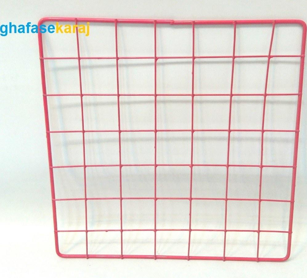 تصویر قفسه مشبک فلزی 32*32( عددی)