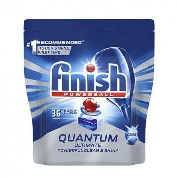 تصویر قرص ماشین ظرفشویی فینیش Quantum