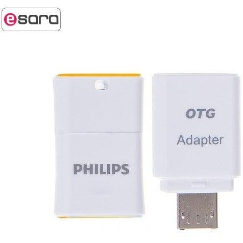 تصویر فلش مموری فیلیپس مدل Pico ظرفیت 32 گیگابایت PHILIPS Pico USB 2.0 Flash Memory - 32GB