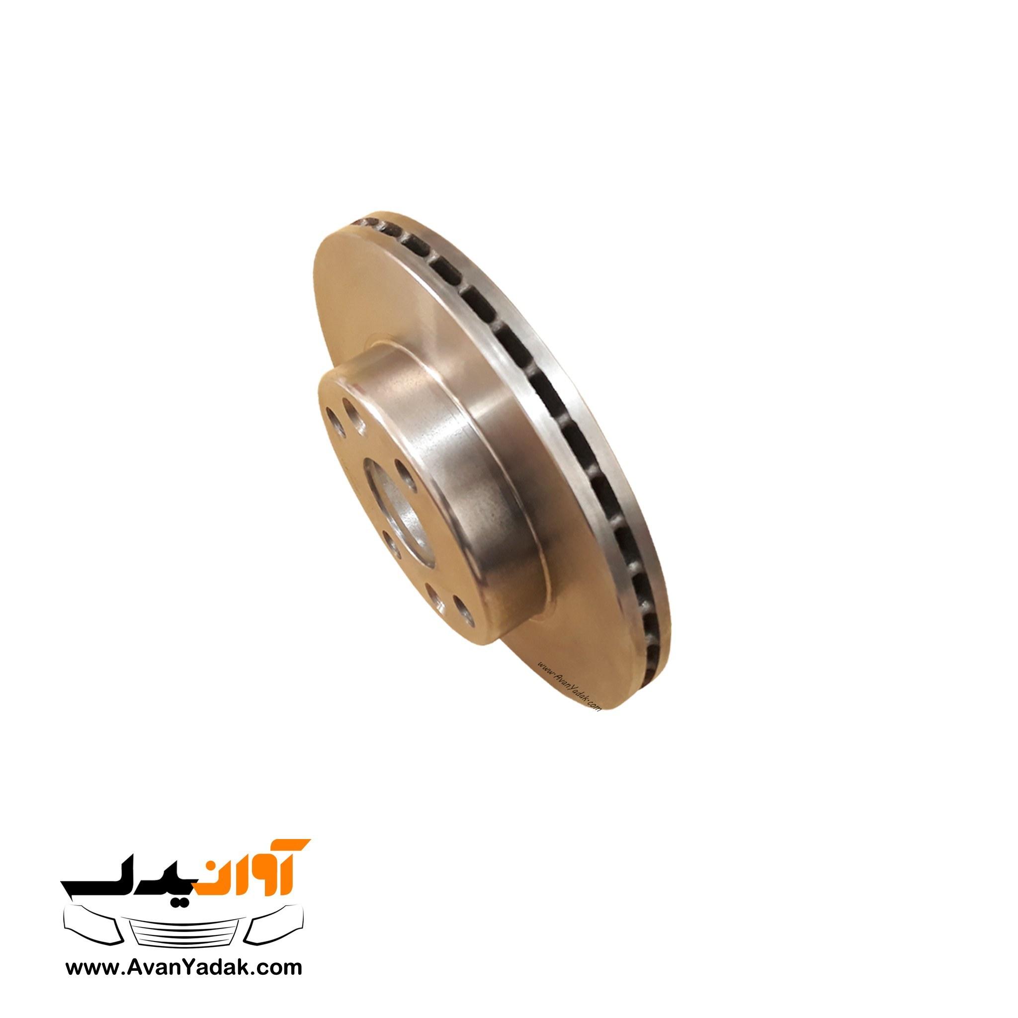 تصویر دیسک چرخ جلو S4T کرگدن ساینا و کوییک دنده ای بسته 2 عددی