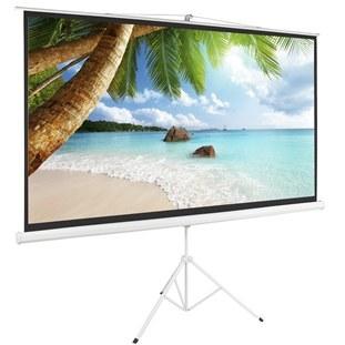 تصویر Scope High quality Tripod Projector Screen 200x200 پرده نمایش پایه دار پروژکتور اسکوپ پارچه عالی سایز 200x200
