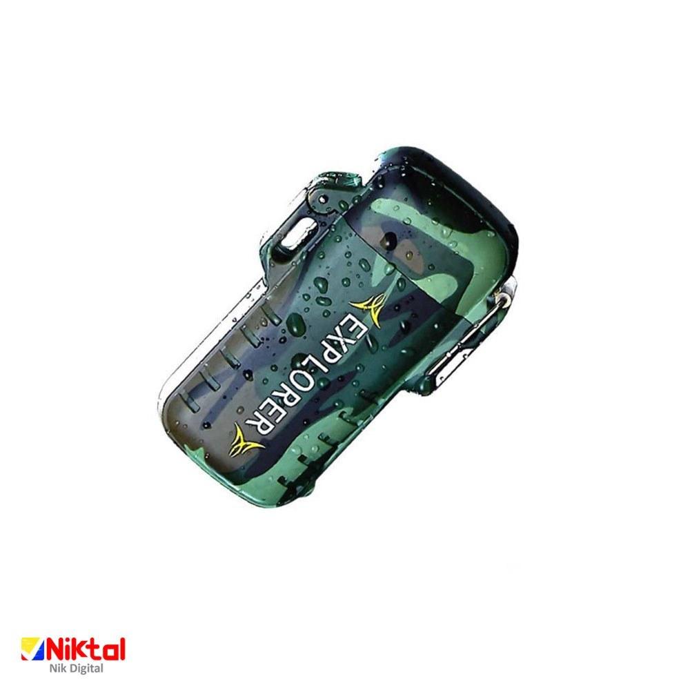 تصویر فندک شارژی الکترونیکی مدل ZC116