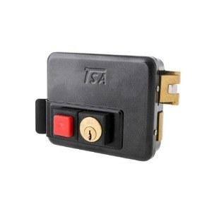 تصویر قفل برقی حیاطی تسا مدل 7080 با کلید ساده