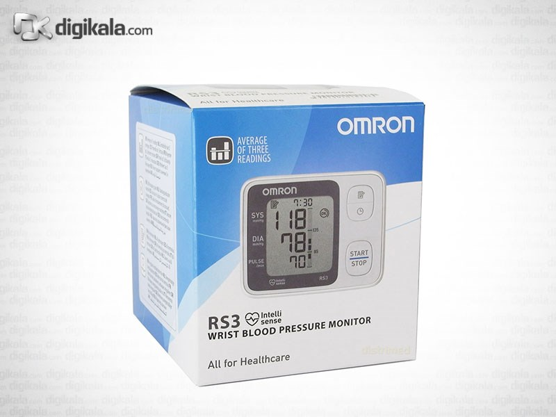 img فشارسنج مچی امرن OMRON RS3 Omron RS3 Blood Pressure Monitor