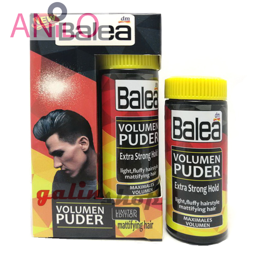 پودرحجم دهنده مو باله آ مخصوص آقایان balea volume powderحجم 10