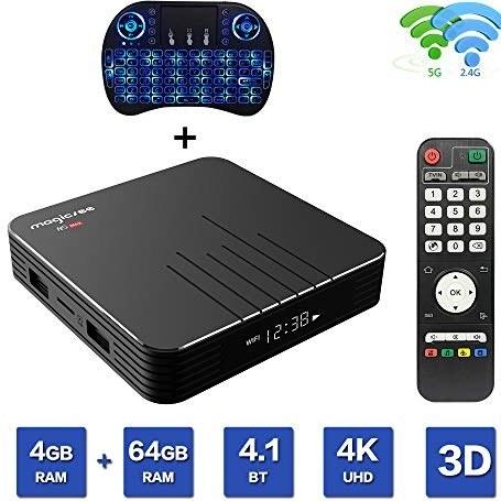 عکس Magicsee N5 Max Android 9.0 TV Box S905X2 Quad Core 4 GB Ram 64 GB ROM Dual WiFi 2.4G 5G Bluetooth 3D Ultimate HD 4K Media Player Streaming Smart Player با Mini Keyboard بی سیم  magicsee-n5-max-android-90-tv-box-s905x2-quad-core-4-gb-ram-64-gb-rom-dual-wifi-24g-5g-bluetooth-3d-ultimate-hd-4k-media-player-streaming-smart-player-با-mini-keyboard-بی-سیم