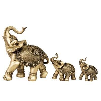 ست 3 عددی مجسمه فیل کد 101
