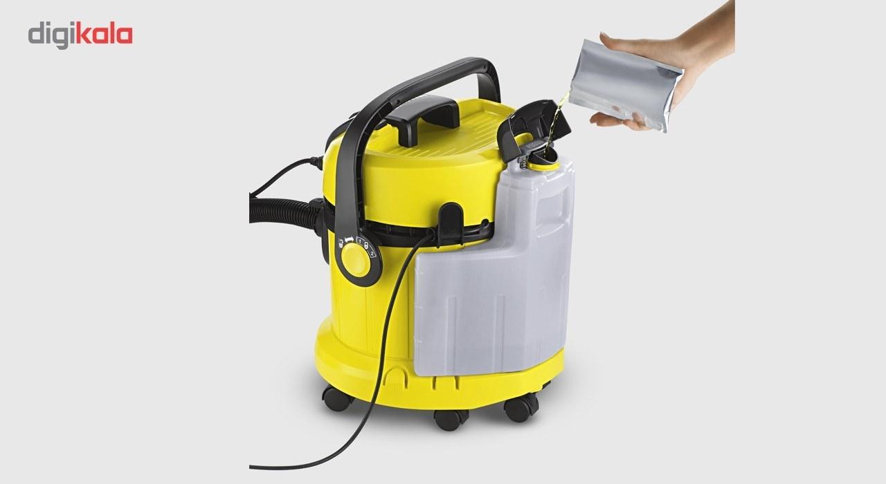 تصویر سرامیک شوی و فرش شوی حرفه ای کرشر مدل SE 4001 به همراه کیت مبل شوی Karcher SE 4001 Ceramic And Carpet Cleaner