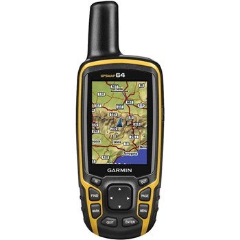 جی پی اس دستی گارمین مپ 64 | Garmin MAP 64 Worldwide Handheld GPS Navigator