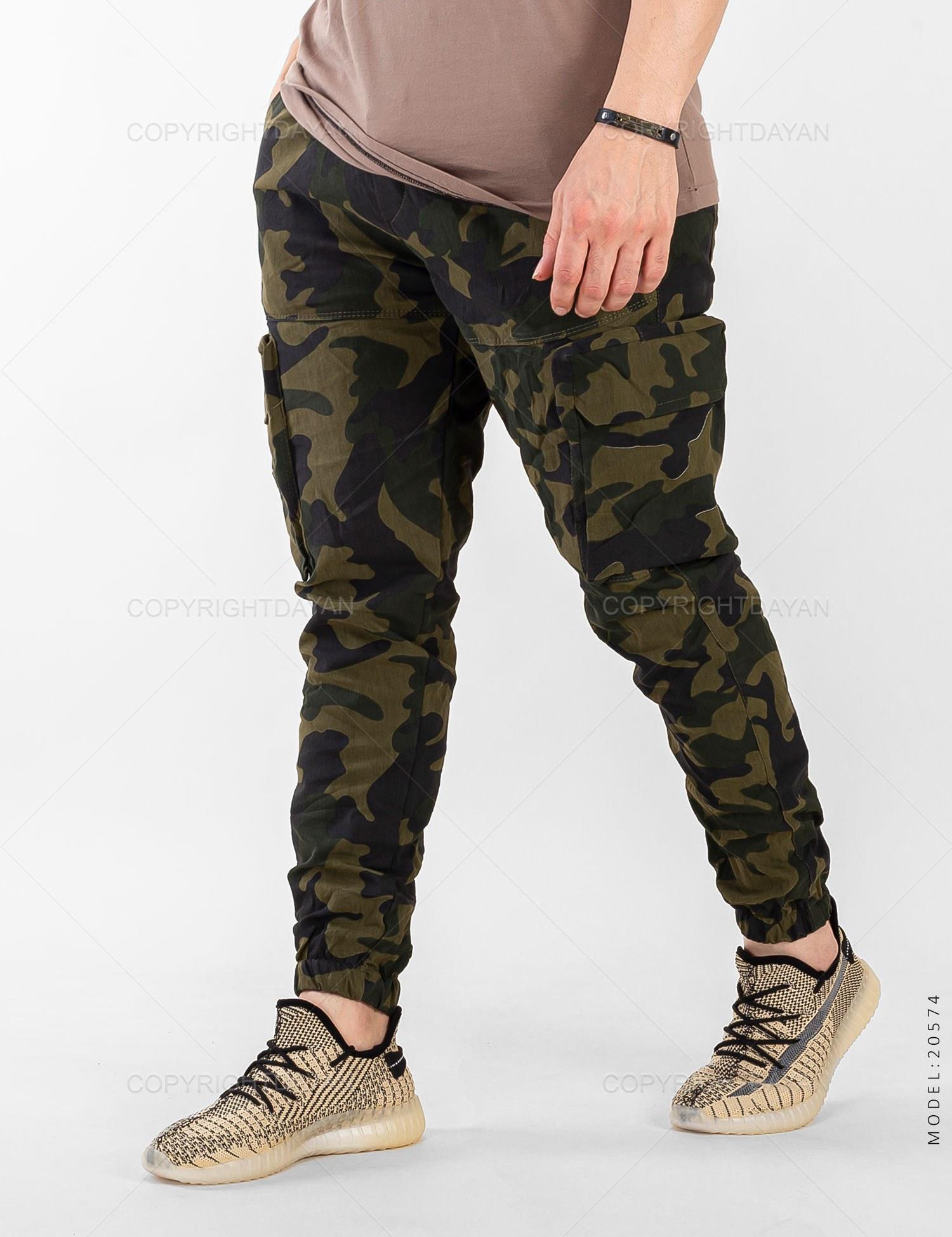 تصویر شلوار اسلش مردانه ارتشی مدل 20574