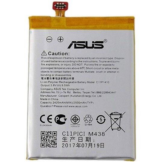 تصویر باتری موبایل مدل C۱۱P۱۴۱۰ با ظرفیت ۲۵۰۰mAh مناسب برای Zenfone ۵ Lite ا ASUS C11P1410 2500mAh Mobile Phone Battery For Zenfone 5 Lite ASUS C11P1410 2500mAh Mobile Phone Battery For Zenfone 5 Lite