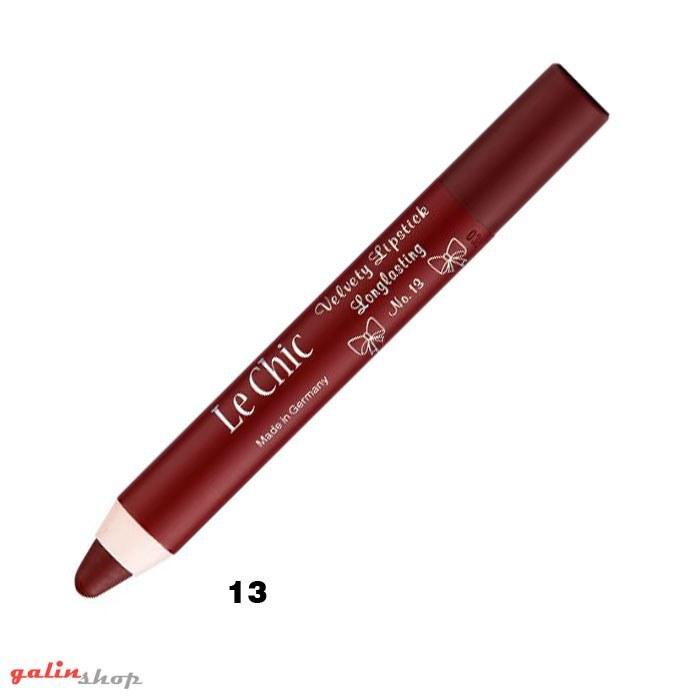 رژ لب مدادی لچیک شماره 13 Lechic