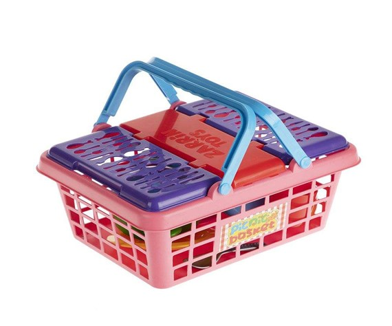 تصویر ست لوازم آشپزخانه کودک زرین تویز مدل Picnic Basket