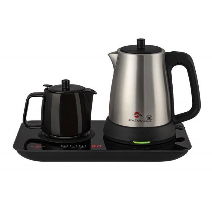 تصویر چای ساز دوکاره پارس خزر مدل گرم نوش Pars Khazar dual-purpose tea maker mod : garmnoosh