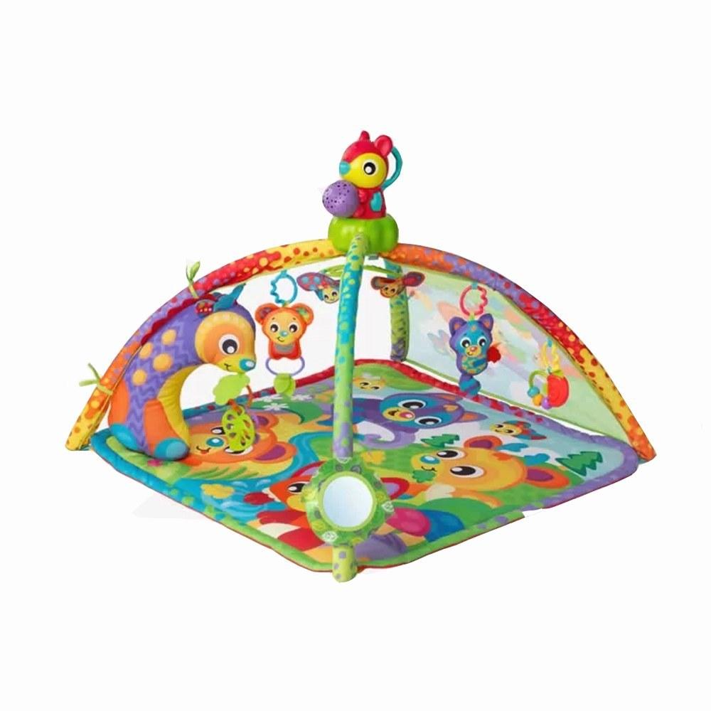 تصویر تشک بازی موزیکال پلی گرو Playgro طرح سنجاب