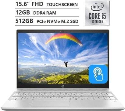 تصویر لپ تاپ اچ پی   12GB RAM   512GB SSD  I5   Pavilion  HP Pavilion