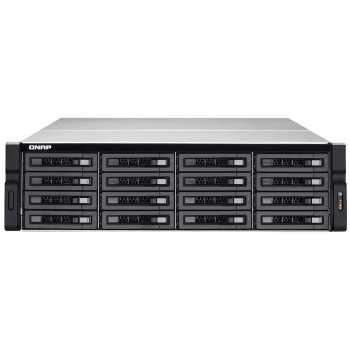 ذخیره ساز تحت شبکه کیونپ مدل TVS-EC1680U-SAS-RP-16G-R2   QNAP TVS-EC1680U-SAS-RP-16G-R2 NAS