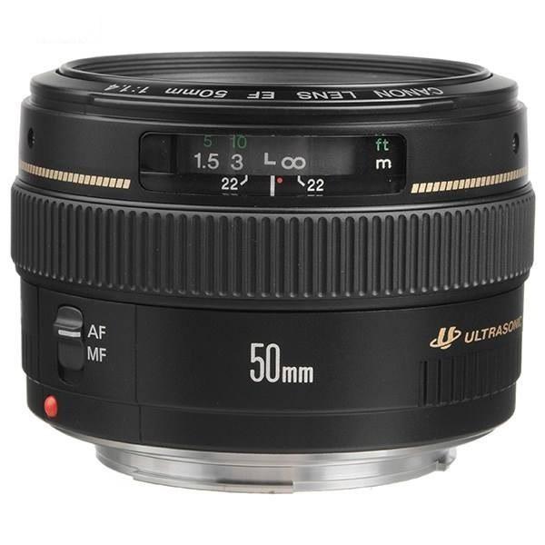 تصویر لنز کانن Canon EF 50mm f1.4 USM Canon EF 50mm f1.4 USM Lens