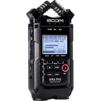 تصویر رکوردر ضبط کننده صدا دستی زوم مدل H4n Pro Zoom H4n Pro