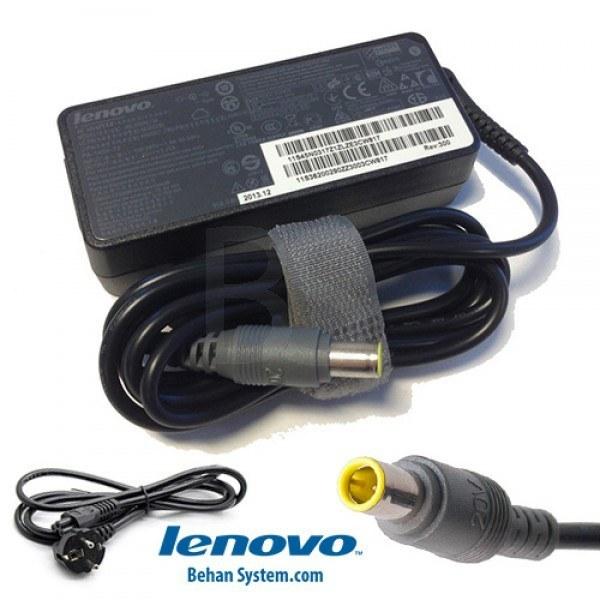تصویر شارژر لپ تاپ لنوو مدل ThinkPad T520 نمونه اصلی دارای شش ماه گارانتی تعویض