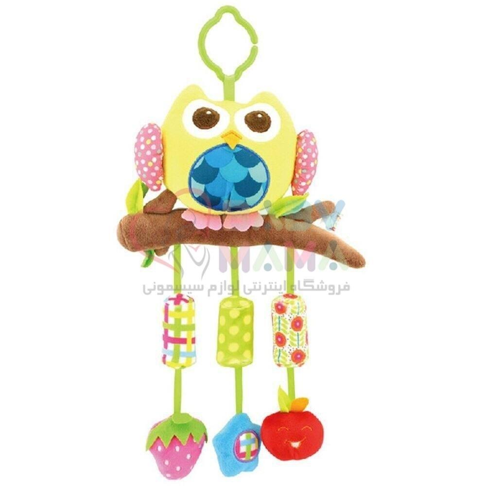 آویز تخت موزیکال happy monkey مدل animal campanula