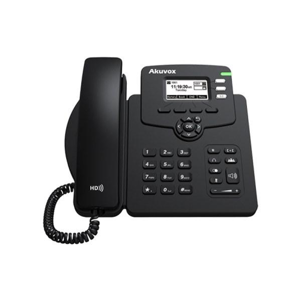 تصویر تلفن تحت شبکه Akuvox مدل SP-R52P