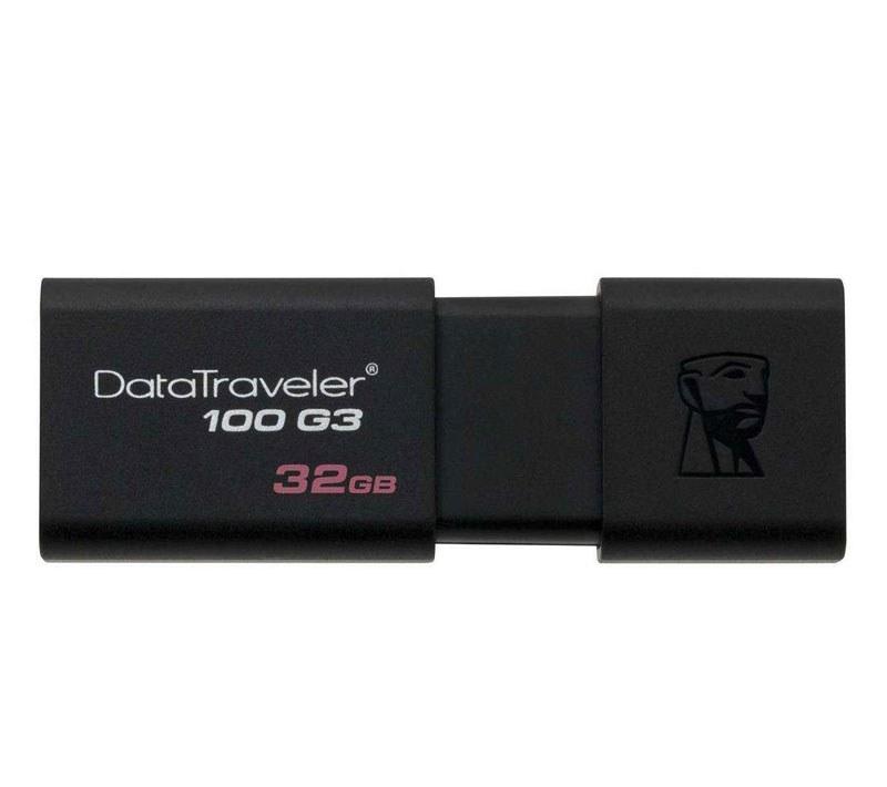 تصویر فلش مموري كينگستون مدل DT100 G3 ظرفيت 32 گيگابايت Kingston DT100 G3 32GB Flash Memory