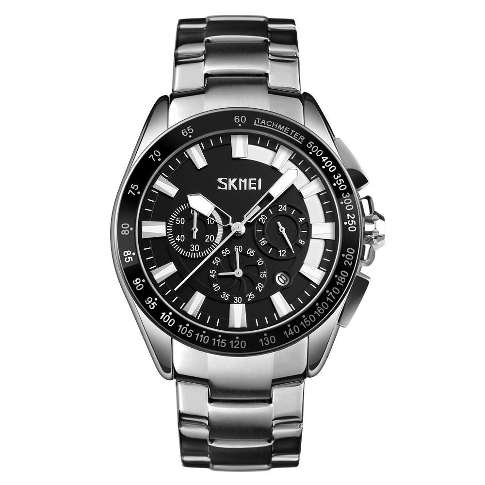 تصویر ساعت مچی عقربهای مردانه اسکمی مدل 9167