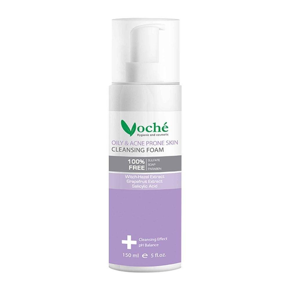 تصویر فوم شست و شوی صورت مناسب پوست های چرب و مستعد آکنه وچه ا Voche Oily And Acne Prone Skin Cleansing Foam Voche Oily And Acne Prone Skin Cleansing Foam