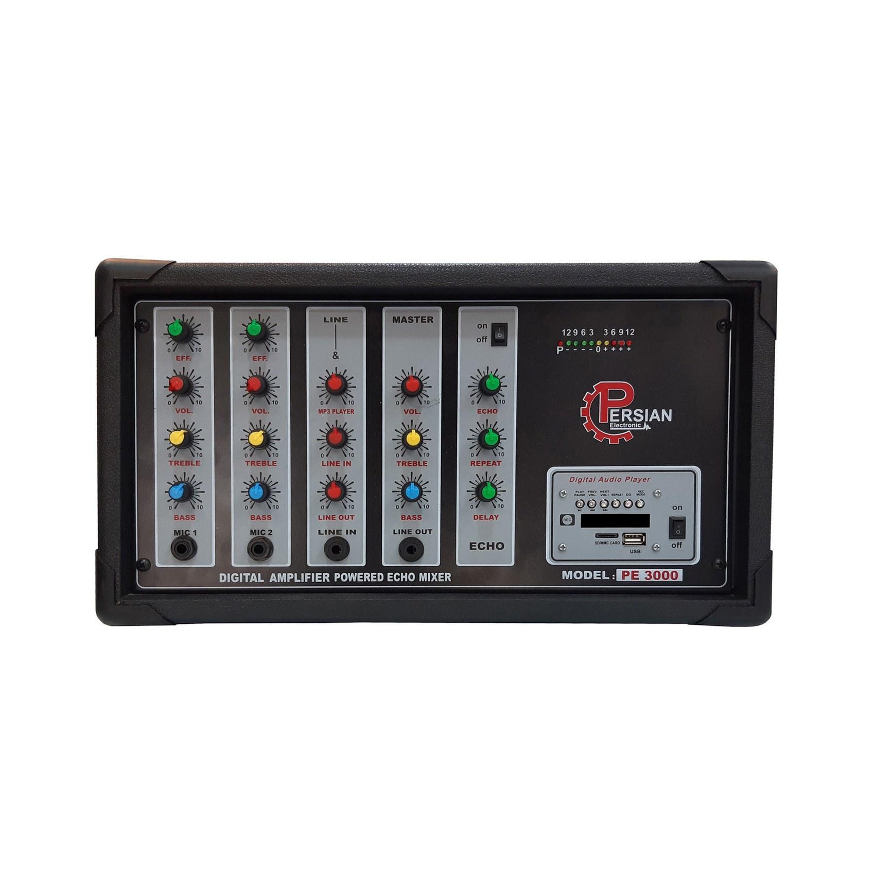 عکس اکوآمپلی فایر پرشین مدل PE3000  اکوامپلی-فایر-پرشین-مدل-pe3000