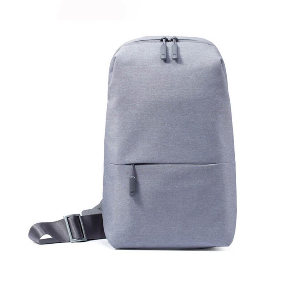 کیف تک دوشی مدل Chest ZJB4032CN | Xiaomi Mi ZJB4032CN Multifunctional Chest Single Shoulder Backpack- Gray