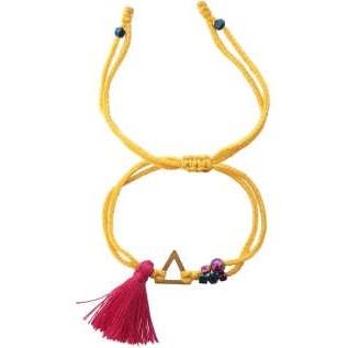 دستبند طلا 18 عیار زنانه گرامی گالری مدل B724 |