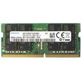 رم لپتاپ DDR4 تک کاناله 2666 مگاهرتز cl17 سامسونگ مدل 2Rx8 PC4 ظرفیت 32 گیگابایت |