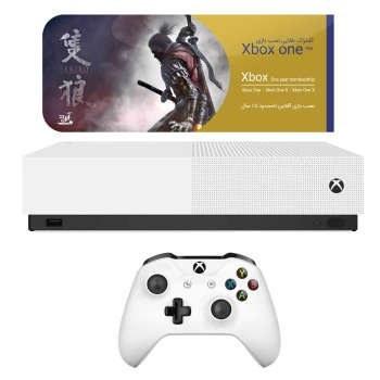 کنسول بازی مایکروسافت مدل Xbox One S ALL DIGITAL ظرفیت 1 ترابایت بدون بازی