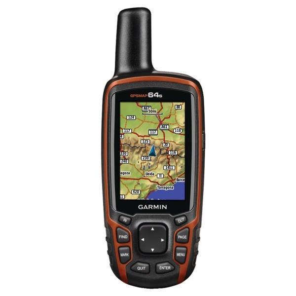 جی پی اس مپ  worldwide 64s گارمین/ رسیور GPS و GLONASS حساسیت بالا |