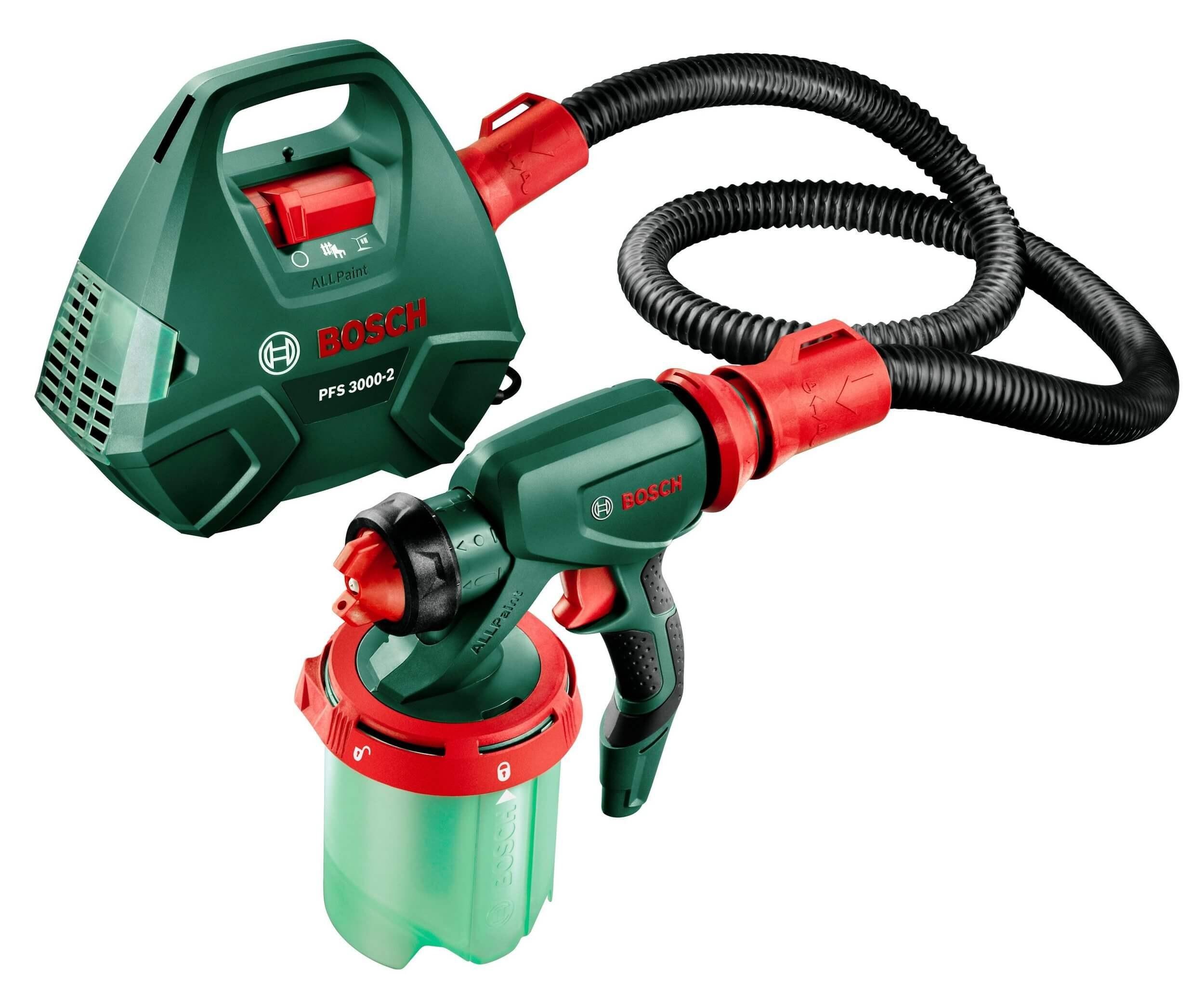پیستوله برقی بوش مدل PFS 3000-2 | Bosch PFS 3000-2 Electrical Spray Gun